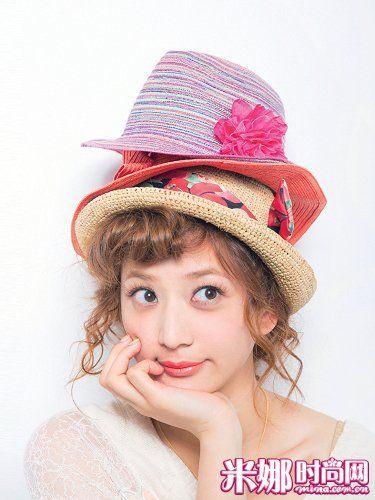 丝带勾帽子的步骤图解