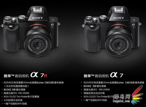 全画幅微单相机_rx1和a99两款全画幅数码相机