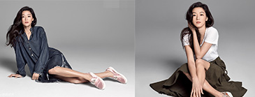美人鱼全智贤拍时尚写真 双腿纤细气质好