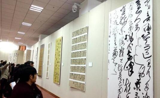 全國第四屆草書展在懷素故裏開幕 近400幅作品亮相