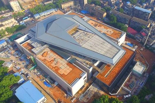 湖南省博物館新館進入內部裝修下半年開放
