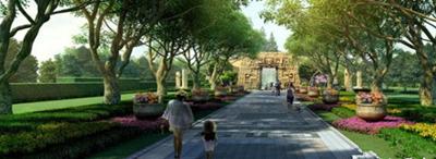 """芙蓉区马楚文化园开建 去浏阳河畔""""重回马楚"""""""