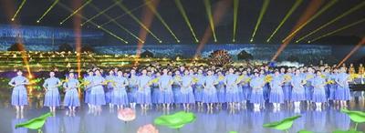 長沙首臺大型田園實景情境演出昨晚彩排 徐宏源出席