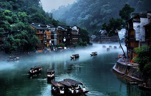 喜訊!鳳凰、通道入圍中國最美縣城50強