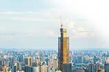 350米!長沙第二高樓封頂 預計2019年投入使用