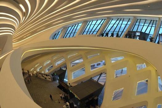 長沙梅溪湖國際文化藝術中心首次部分對外開放