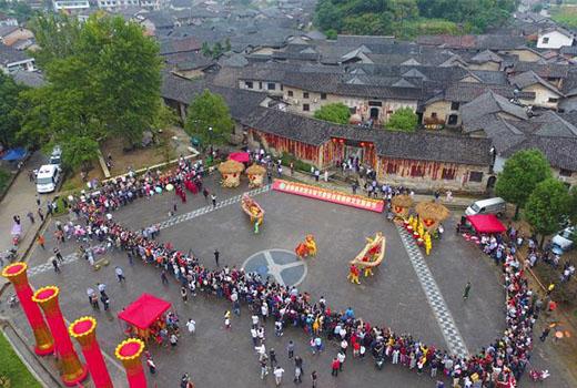 張谷英曬秋文化旅遊節開幕