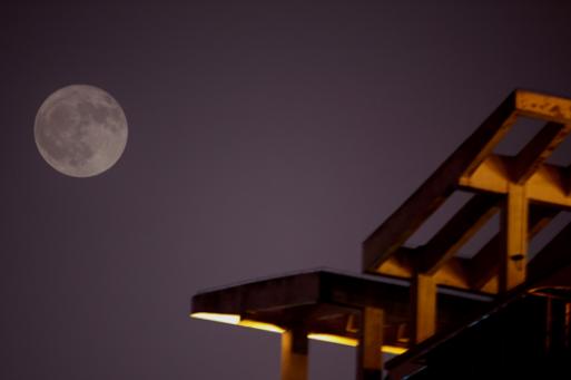 """月是故鄉明 雁城又見""""十五的月亮十六圓"""""""