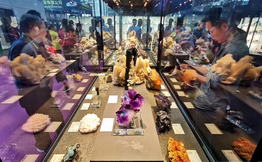 國際礦物寶石博覽會在湖南郴州開幕