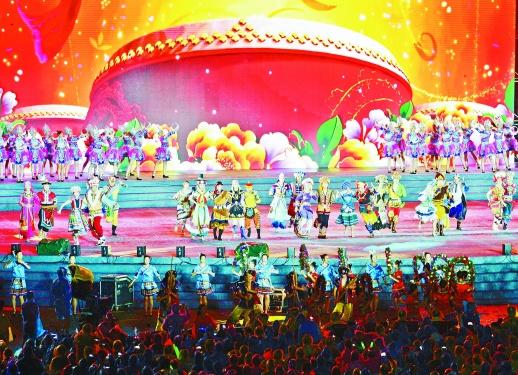 第22屆湖南(南山)六月六山歌節開幕