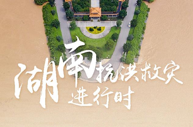 湖南:圖説抗洪救災的四天三夜