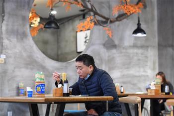 長沙:做好防疫措施 助力餐飲企業復工